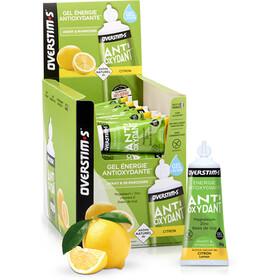 OVERSTIM.s Antioxydant Żele energetyczne - opakowanie 36x30g, Lemon